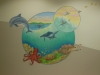 Choc Hospital Underwater Aquatic Mural - Muralist Carolee Merrill