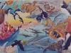 Aquatic Wonders Mural - Muralist Carolee Merrill