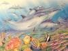 Dolphin Paradise Mural- Muralist Carolee Merrill