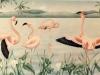 Flamingo Mural- Muralist Carolee Merrill