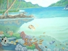 Underwater Paradise Mural- Muralist Carolee Merrill