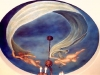 ceiling mural Cherub mural- Muralist Carolee Merrill