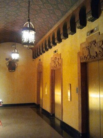 Park Plaza Hotel Mural Restoration - Muralist Carolee Merrill