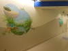 Tropical Reptile Mural - Choc Hospital Mural