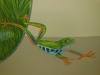 Tropical Reptile Mural - Choc Hospital Mural