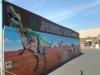 Shopping Center Mural - Mrualist Carolee Merrill