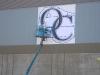 Oaks Christian High School Sign and Mural  - Muralist Carolee Merrill