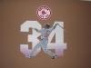 Boston Red Sox Sign - Muralist Carolee Merrill