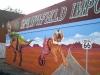 Springfield Sign and Mural - Muralist Carolee Merrill
