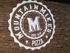 Mountain Mike's Pizza Sign - Muralist Carolee Merrill