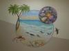 Beach mural - Choc Hospital Mural - Muralist Carolee Merrill
