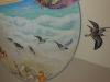 sandpiper Mural Beach mural- Choc Hospital Mural - Muralist Carolee Merrill