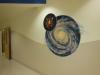 Cosmos Mural - Choc Hospital Mural - Muralist Carolee Merrill