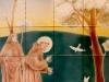 St. Francis Tile Mural - Muralist Carolee Merrill