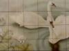 Swan Lake Tile Mural - Muralist Carolee Merrill