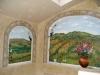 Tuscany Trompe L'oeil Mural - Muralist Carolee Merrill