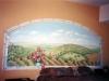 Cortona Tuscan Mural- Muralist Carolee Merrill