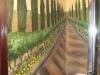 Tuscan Bath Mural- Muralist Carolee Merrill