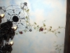 Grape Vine Tuscan Ceiling Mural - Muralist Carolee Merrill