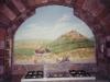 Tuscan Tromp L'oeil Mural - Muralist Carolee Merrill