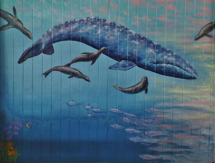 Aquatic Murals - Muralist Carolee Merrill