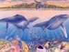 Aquatic Whale Mural - Muralist Carolee Merrill
