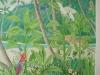 Tropical Paradise Mural - Muralist Carolee Merrill