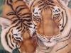 Tiger Tenderness Mural - Muralist Carolee Merrill