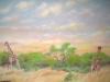 Africa Mural - Muralist Carolee Merrill
