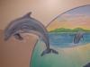 Aquatic Dolphin Murals - Muralist Carolee Merrill