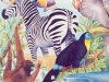 Nature's Wonders Mural  - Muralist Carolee Merrill
